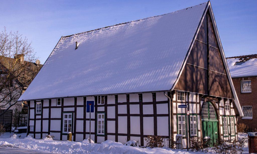 Holtkämperei im Winter